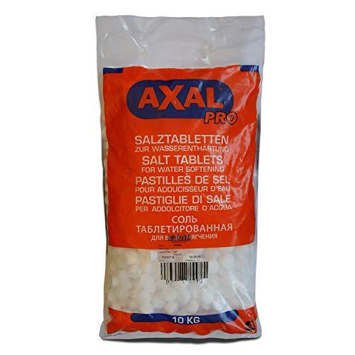 Axal Pro 10kg Salztabletten Regeneriersalz Tabletten-Form Wasserenthärtungsanlagen Pools
