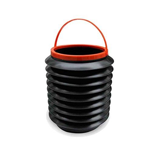 YuAn Cubo de la Basura del Coche de la Caja de Almacenamiento del Paraguas del Coche en el Mini Coche Creativo Interior Multifuncional del Coche Que dobla
