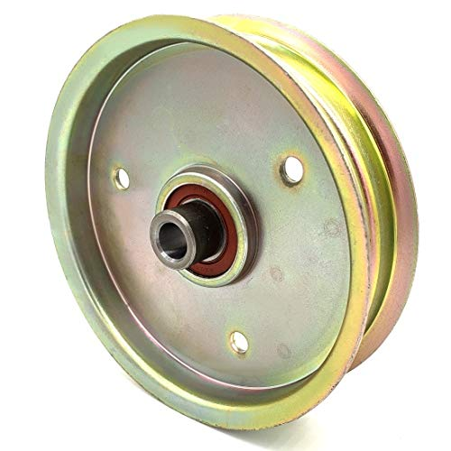 Phoenix Mfg. 5 Inch Flat Dia Flat Idler Pulley Replacement for Wood-Mizer 043367 -  31500106D
