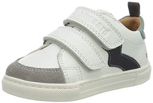 Bisgaard Jungen Karlo Sneaker, Mehrfarbig (White/Mint 2007), 30 EU