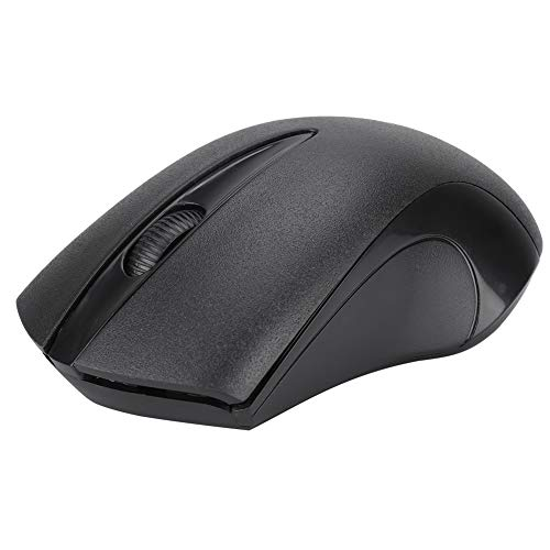 Sutinna Battery Powered Ergonomic Computer Mouse, Wireless Optical Mouse, for 2000/XP (64)/Vista/7/10 for PC Laptop