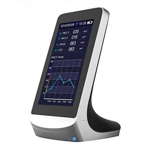 Medidor calidad del aire con 8 funciones y control WIFI