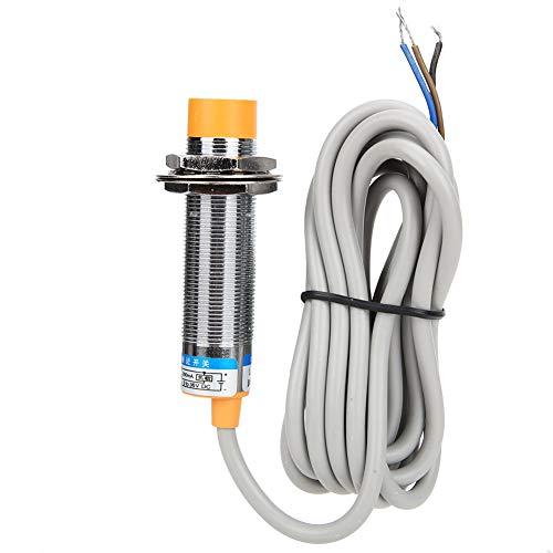 ASHATA Sensor de proximidad, Interruptor de Sensor de proximidad Capacitivo LJC18A3-B-Z/Bx DC12~24V 10 mm + -10% NPN, Sensor de proximidad inductivo de Objetos metálicos