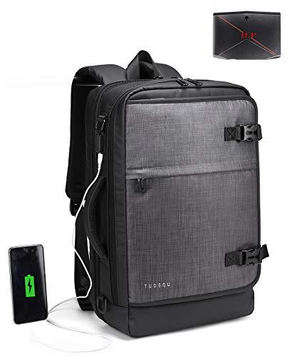 TUDEQU 2-IN-1 Laptop Messenger Bags 17.3 Inch, Extra Large Shoulder...