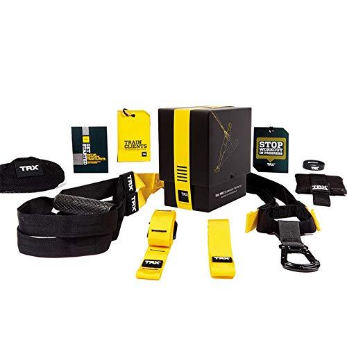 BGROESTWB Übungs-Bänder Resistance Band Fitness-Anzug Hanging Trainingsgürtel Fitness Pull-Gürtel am besten for Yoga Pilates für Dehnübungen (Color : Yellow, Size : One Size)