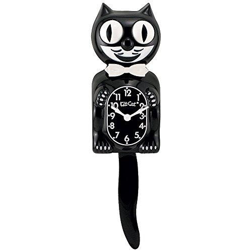 Classic Black Lady Kit-Cat® Klock