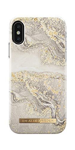 iDeal Of Sweden Handyhülle für iPhone X & XS (Sparkle Greige Marble)