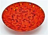 Plato cristal de Murano Murrine Moretti diámetro 13centímetros de colección