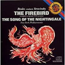 Stravinsky: The Firebird original 1910 version The Song of the Nighingale