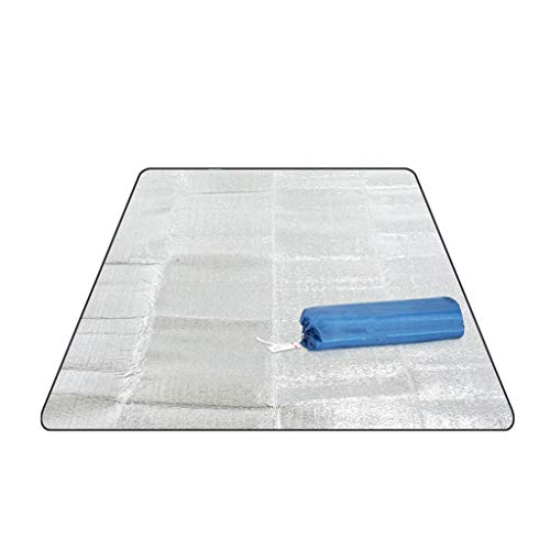 NA. Shaoyanger Outdoor Camping Mat Tent Sleeping Mattress Waterproof Aluminum Foil Foldable EVA Picnic Beach Pad (C#)