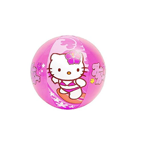 Intex 58026NP - Pelota hinchable Hello Kitty diámetro 51 cm, +3 años