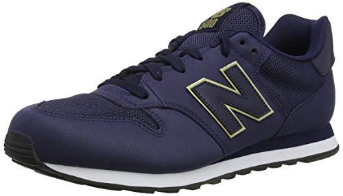New Balance 500 Core, Zapatillas Mujer, Azul (Navy), 38 EU