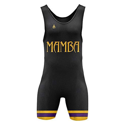ADDIX Sportswear Mamba Rage Black Singlet Adult Mens Medium