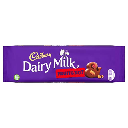 Cadbury Dairy Milk Fruit and Nut Chocolate Bar, 300 g