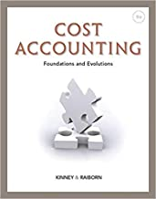[1111971722] [9781111971724] Cost Accounting: Foundations and Evolutions 9th Edition-Hardcover