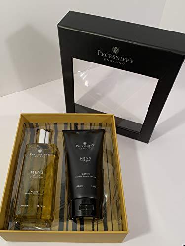 Pecksniff's - Active - Men's Bath & Shower Gel/After Shave Balm - Gift Set