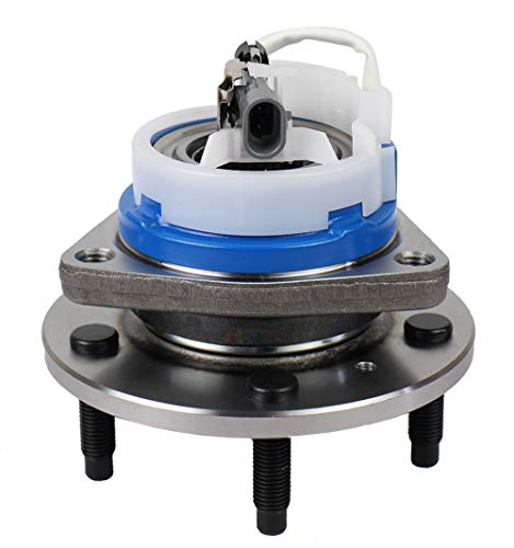 Autoround Wheel Hub and Bearing Assembly 513121 Front Axle for Allure, Aurora, Century, Lesabre, Impala 5 Lug w/ABS
