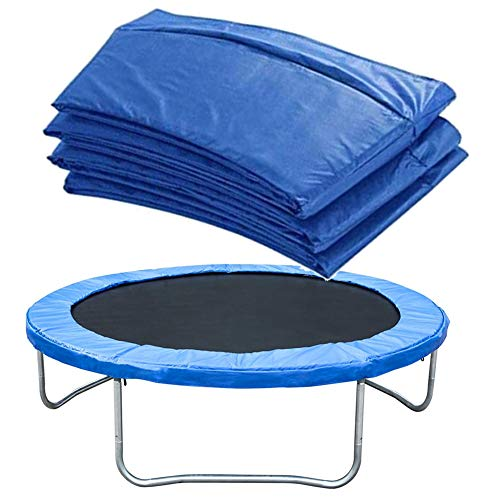 LCAZR Trampoline Cover Replacement Trampoline Surround Pad Foam Safety Guard Spring Padding Pads,Tear-Resistant Edge Protection,16FT