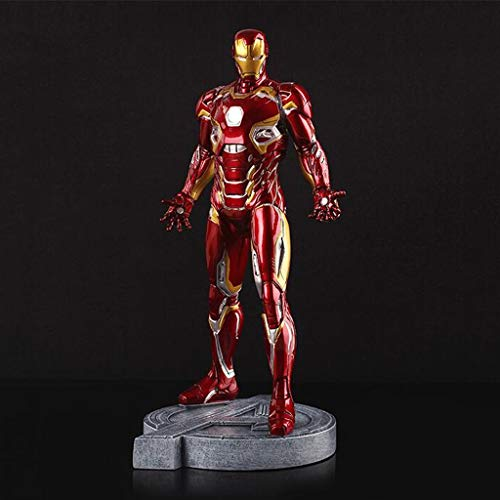 Xuping mark45 Red Iron Man Casa Modelo Juguete Estatua