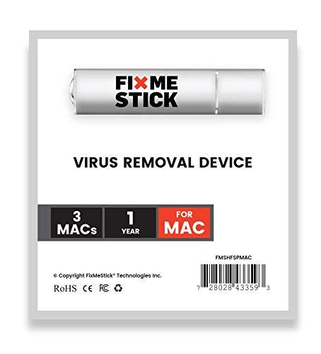 FixMeStick für Mac® - Virus-Entfernungsgerät – Unbegrenzte Nutzung an bis zu 3 Macs für 1 Jahr