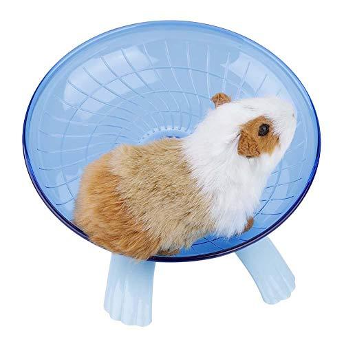 Laufrad für Hamster, Mäuse, Ratten, Rennmäuse, Chinchilla, Meerschweinchen, Eichhörnchen (blau)