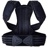 バックブレイスポスチャーコレクターユニセックス-調節可能なストラップ付きバックサポートベルト、目に見えない矯正バンド、腰の痛みを軽減し、背中の痛みを軽減し、姿勢を改善し、腰部サポートを提供します,S