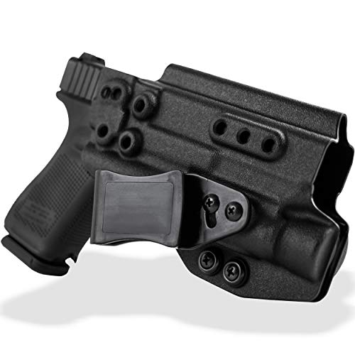Skydas Gear JEDBURGH IWB Light-Bearing Holster Compatible with Glock 9mm/40/357Sig Right Hand (Olight PL-2/PL-Pro)