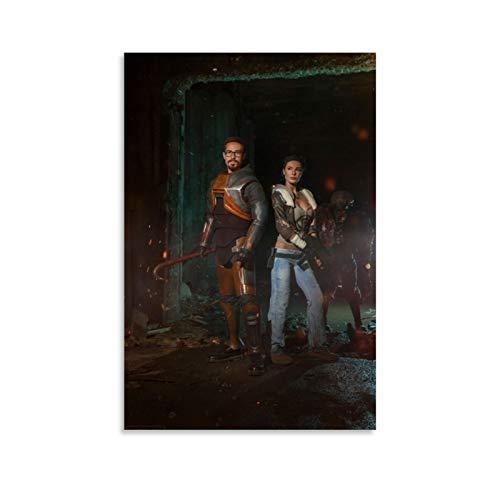 weqwe 6 pósteres de Game Half Life para pared de 60 x 90 cm
