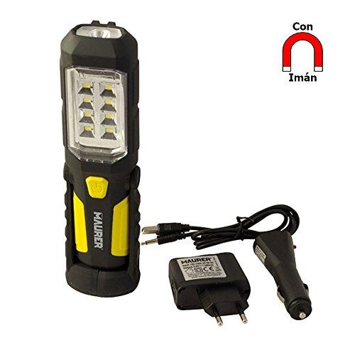 Maurer 19041215-4,5 V rechargeable led Lampe de poche led 15