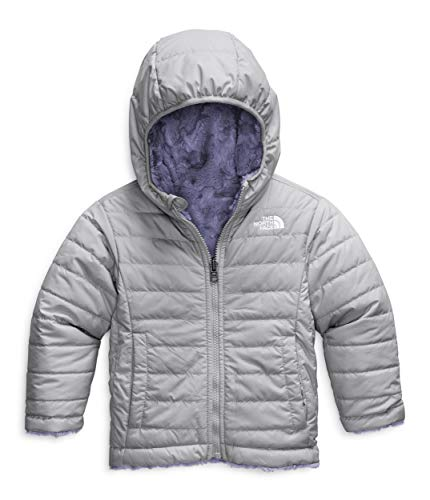 The North Face Toddler Girls' Reversible Mossbud Swirl Jacket, Meld Grey/Sweet Lavender, 2T