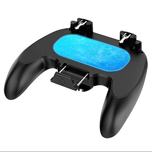 ROSELI Controlador de Juego de BateríA Dual Joystick Semiconductor Gatillo de Enfriamiento Gamepad Manejar de Juego para TeléFono MóVil Android