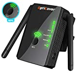 [Upgraded 2019] WiFi Extender with WPS Internet Signal Booster - Wireless Repeater 2.4GHz Band Up to 300 Mbps - Best Range Network/Compatible with Alexa/Extends WiFi to Smart Home/Alexa Devices