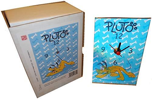 Disney's Pluto wandklok, 10,2 x 15,5 cm, lenticular table klok