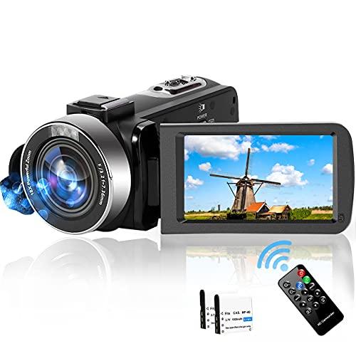 Video Camera Camcorder,2.7K Full HD 30FPS 42MP Vlogging...