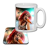 Hayley Williams Paramore (V3) Matching Mug and Coaster Gift Set ideal Valentines, Birthday Present 2019