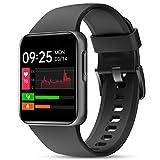 ZOSKVEE Reloj Inteligente, Smartwatch Hombre Mujer con Ritmo Cardíaco, Oxígeno Sanguíneo,...