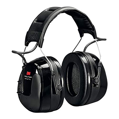 3M Peltor WorkTunes Pro FM Radio Headset Black, 32 dB, Battery Powered – Hearing protection with...