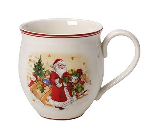 Villeroy & Boch Toy's Delight (Délice de Jouets) Tasse avec poignée en Porcelaine, Rouge, 12 x 10 x 10 cm