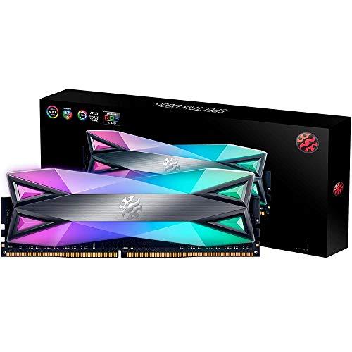 ADATA Memoria RAM XPG Spectrix D60G, DDR4, U-DIMM, 8GB (1x8GB), 3000MHz (PC4-24000), CL16, Non-ECC, RGB…