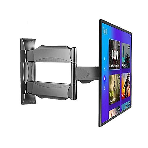 Equipo para el hogar Soporte para TV Armarios de pared de acero inoxidable resistentes para la mayoría de televisores de 14 43 pulgadas Soportes de pared para TV universales de hasta 25 kg Altura i