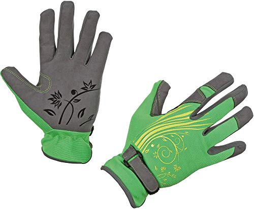 Secret garden paire de gants de jardinage taille 10/xL/motifs fleurs