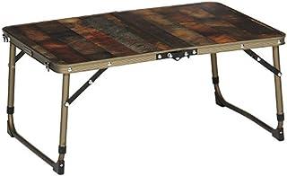 アルミ アウトドア テーブル ヴィンテージ ライン 折りたたみ式 ミニ テーブル キッチン テーブル クイックキャンプ