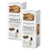 The Fine Cheese Co. Tostadas de dátiles, avellanas y semillas de calabaza - 2 x 100 gramos