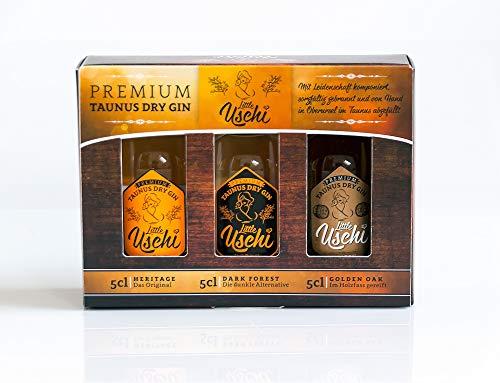 "Premium Taunus Dry Gin\""Ursel\"" 3x5cl Geschenkbox - London Dry Gin Tradition"