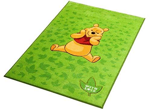 ABC Tappeti Viva Disney Comfort Line Winnie Green Leaves 100 x 150 cm