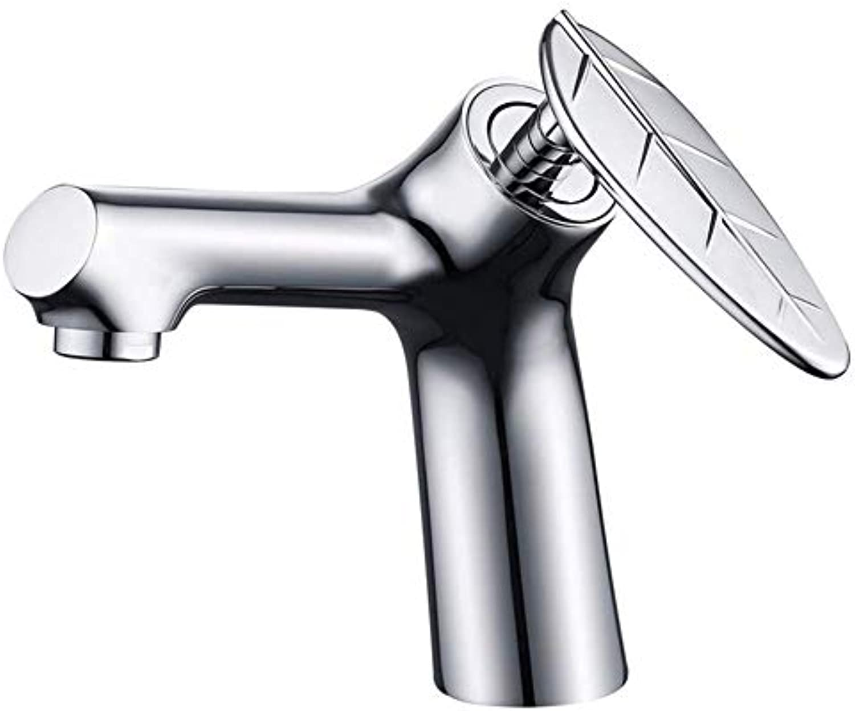 360 ° drehbarer Wasserhahn Retro Faucetchrome Bad Füllstoff Mischbatterie Bad Hebel Wasserhahn Bad warmes und kaltes Wasser Mischbecken Wasserhahn
