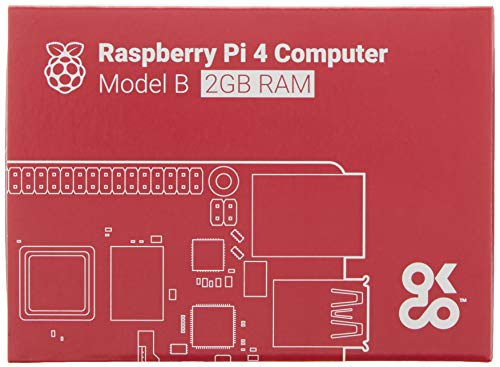 Raspberry Pi 4 Model B 2019 Quad Core 64 Bit WiFi Bluetooth...