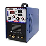 IGBT TIG/MMA Welder - Tosense 200Amp TSE200G AC DC Square-wave Inverter 220V Welding Machine Welding 1-14mm For Aluminum, Stainless Steel, Carbon, Copper and Other Metal