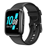 YAMAY Smart Watch, Watches for Men Women Fitness Tracker Blood Pressure Monitor Blood Oxygen Meter Heart Rate Monitor IP68 Waterproof, Smartwatch Compatible with iPhone Samsung Android Phones