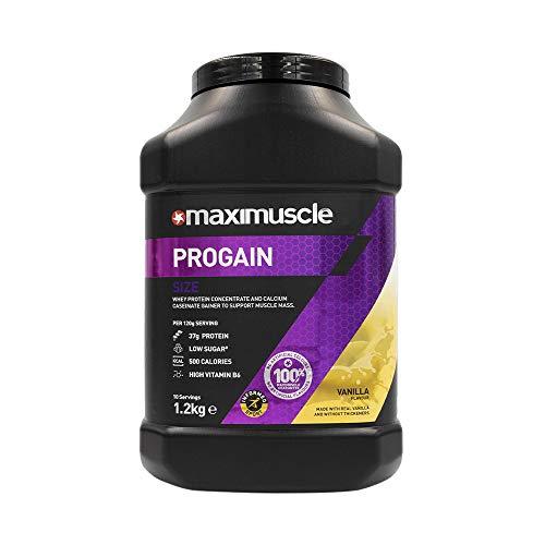 MAXIMUSCLE Progain Protein Powder Vanilla Flavour,1.2 kg